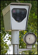 red light camera unit